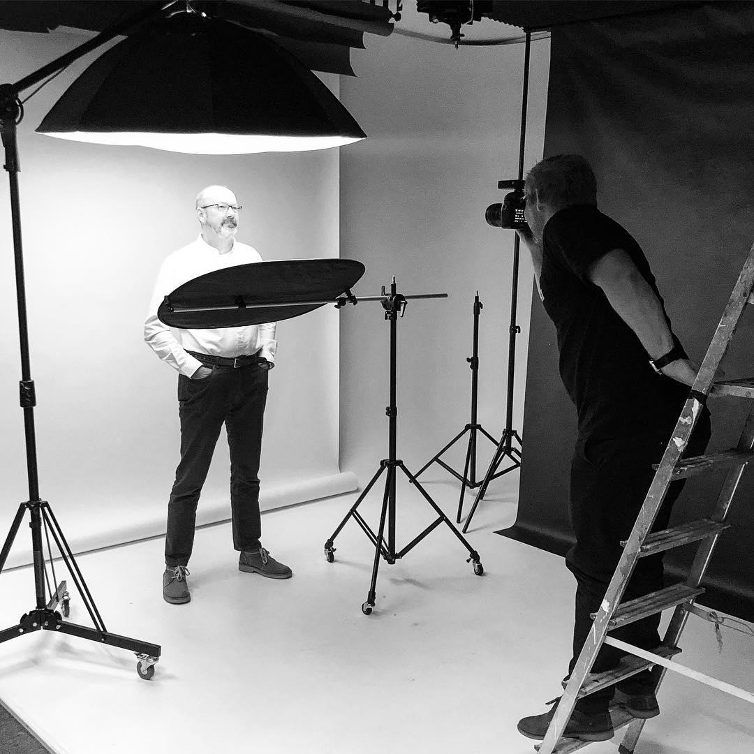 Yeah! Heute Fotoshooting bei @3komma3 für unsere neue Website...