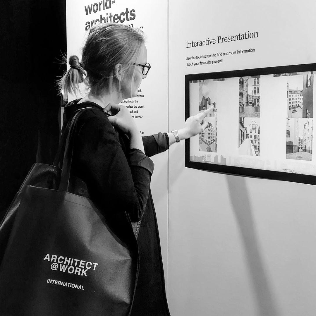 So viele neue Eindrücke für unsere nächsten Bauvorhaben! Spannender Messebesuch auf der @architect_at_work Messe in Hamburg.