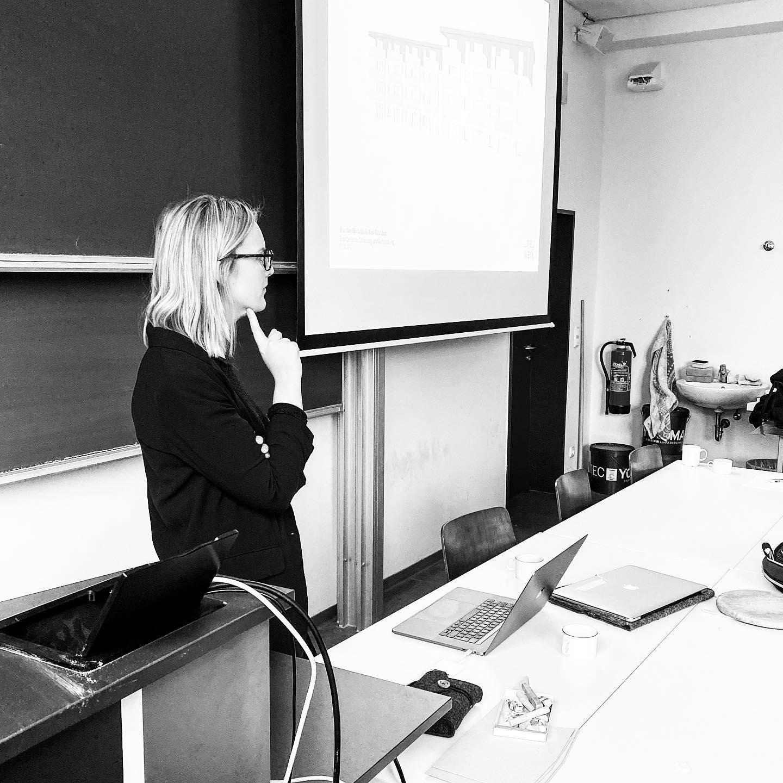 Spannende Kooperation mit der @th.luebeck - Fachbereich Wir durften heute mit einem Impulsvortrag zum Thema in von unseren aus der Praxis berichten.